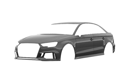 Цвета кузова RS3 Sedan